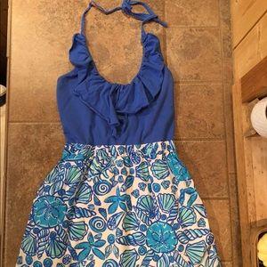 Lilly Pulitzer Quinn Sailor Halter Dress